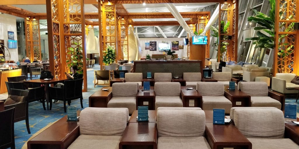 Vietnam Airlines Lotus Lounge Hanoi International 3