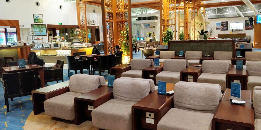 Vietnam Airlines Lotus Lounge Hanoi International 4