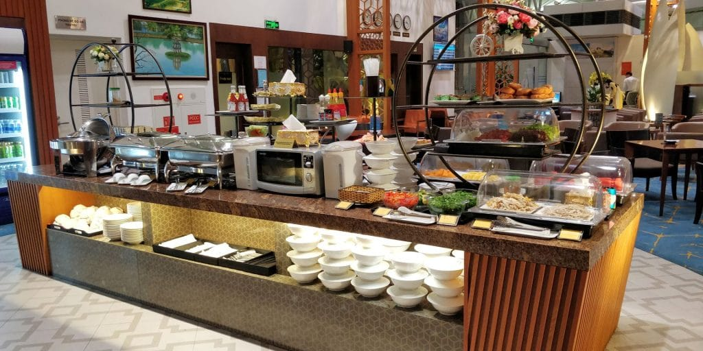 Vietnam Airlines Lotus Lounge Hanoi International 5