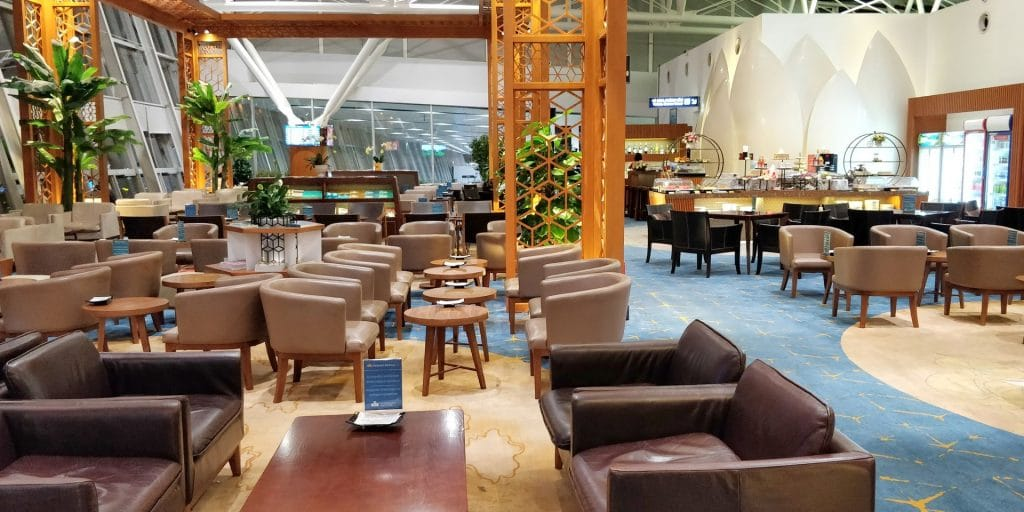 Vietnam Airlines Lotus Lounge Hanoi International 7