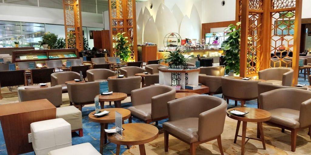 Vietnam Airlines Lotus Lounge Hanoi International 8