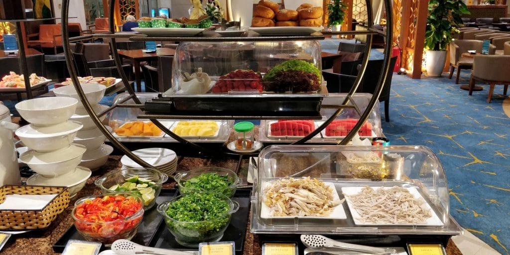 Vietnam Airlines Lotus Lounge Hanoi International Buffet 2