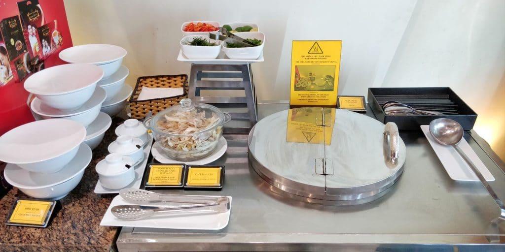 Vietnam Airlines Lotus Lounge Hanoi International Buffet 8