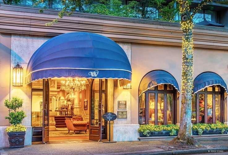 Wedgewood Hotel Und Spa Eingang