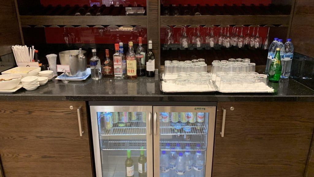 Marhaba Lounge Dubai Terminal 1 Drinks 2