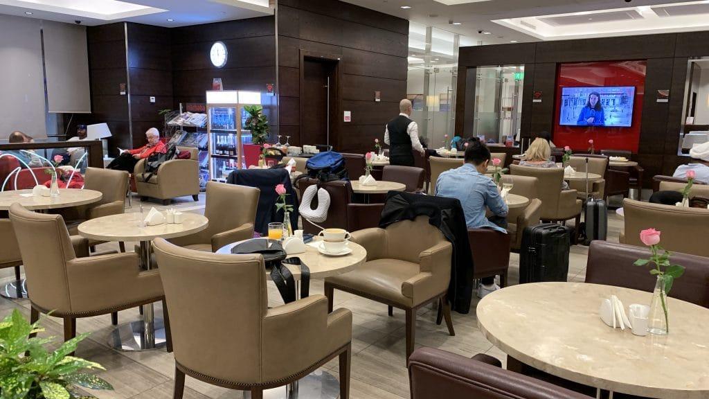 Marhaba Lounge Dubai Terminal 1 Sitzbereich
