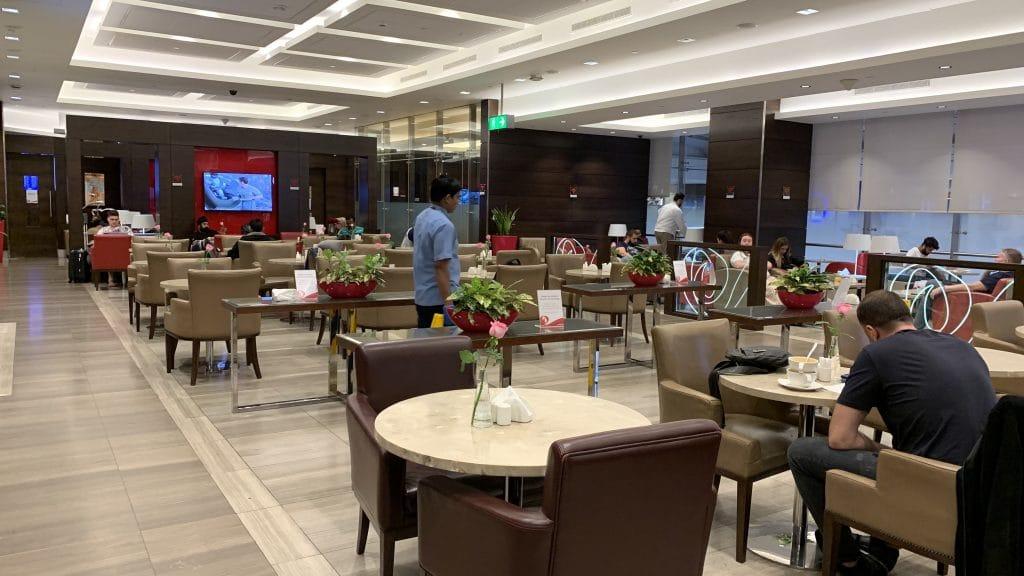 Marhaba Lounge Dubai Terminal 1 Sitzgelegenheiten