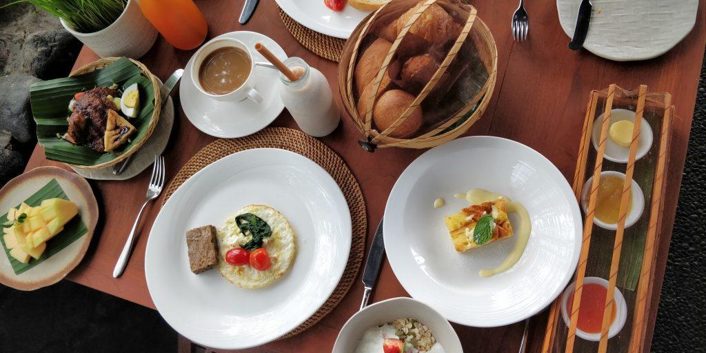 Alila Ubud Frühstück 2