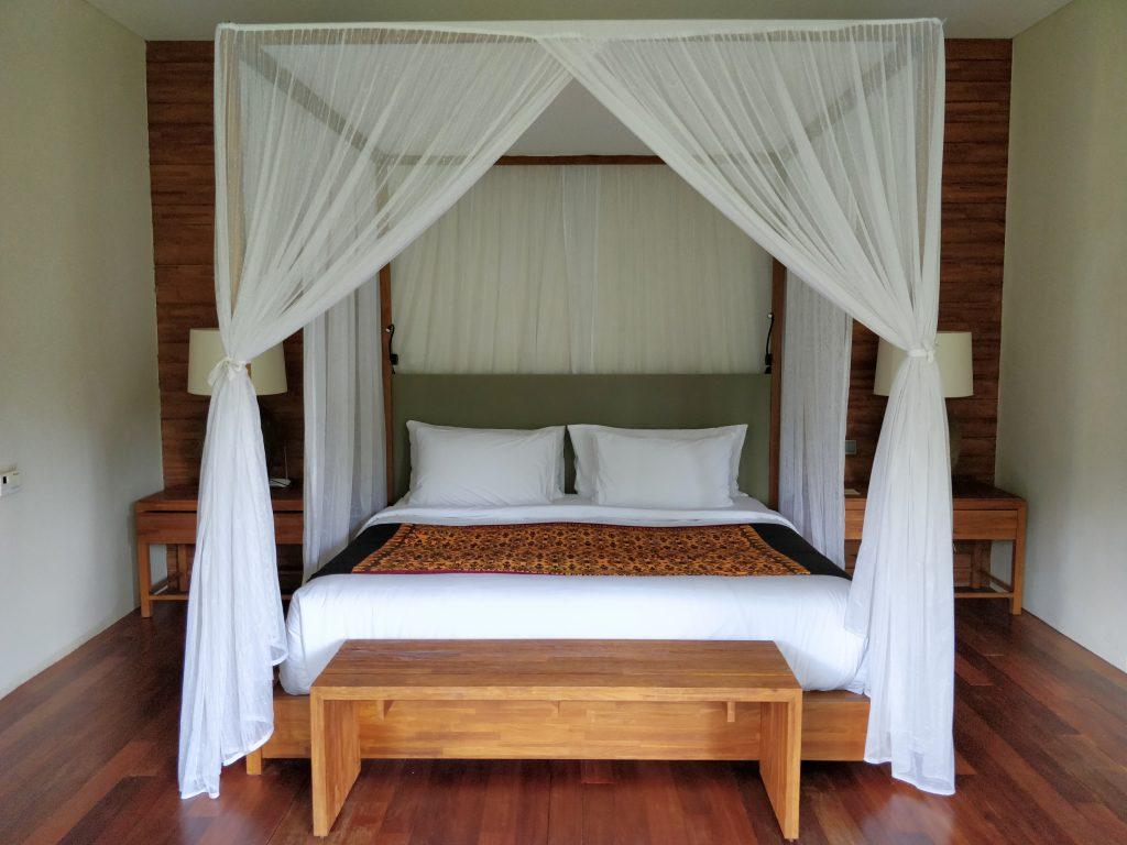 Alila Ubud Villa Schlafzimmer