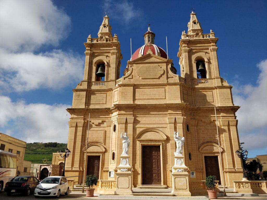 Basilica Of Our Lady Of Patronage Gozo