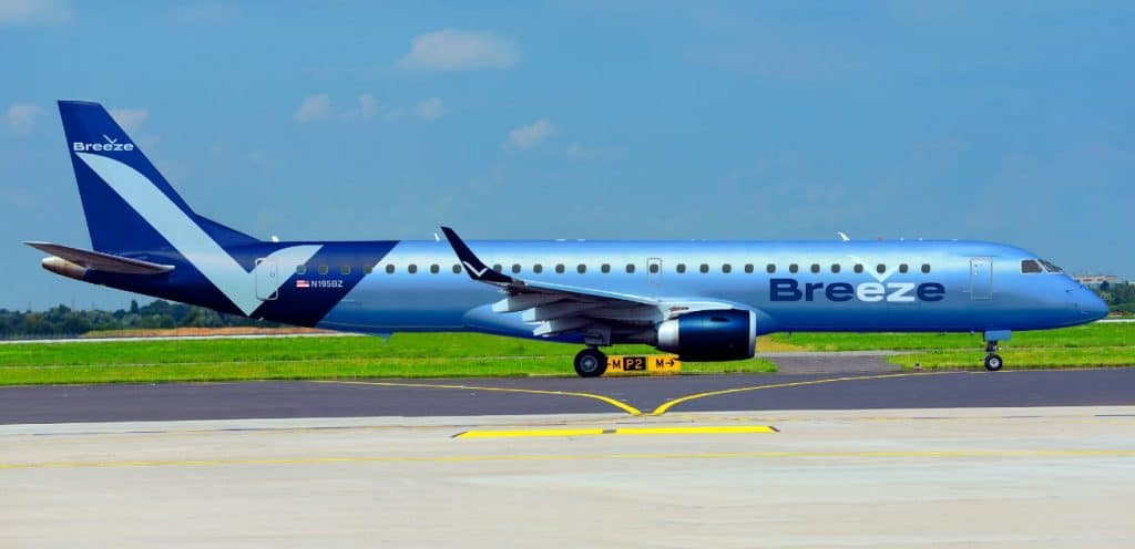 Breeze Airways Flugzeug