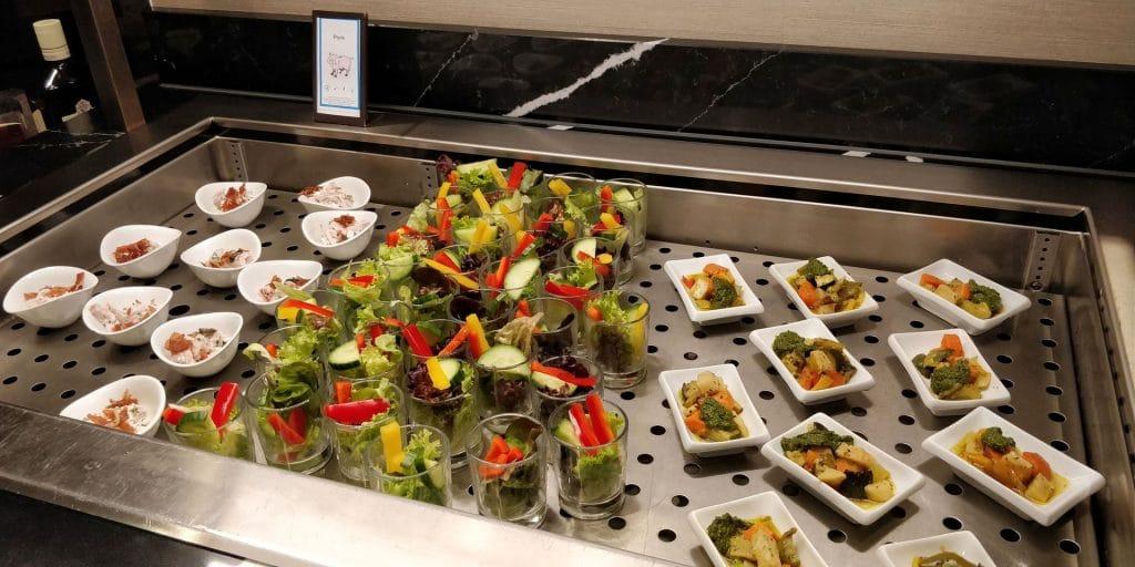 Hilton München City Lounge Abendessen