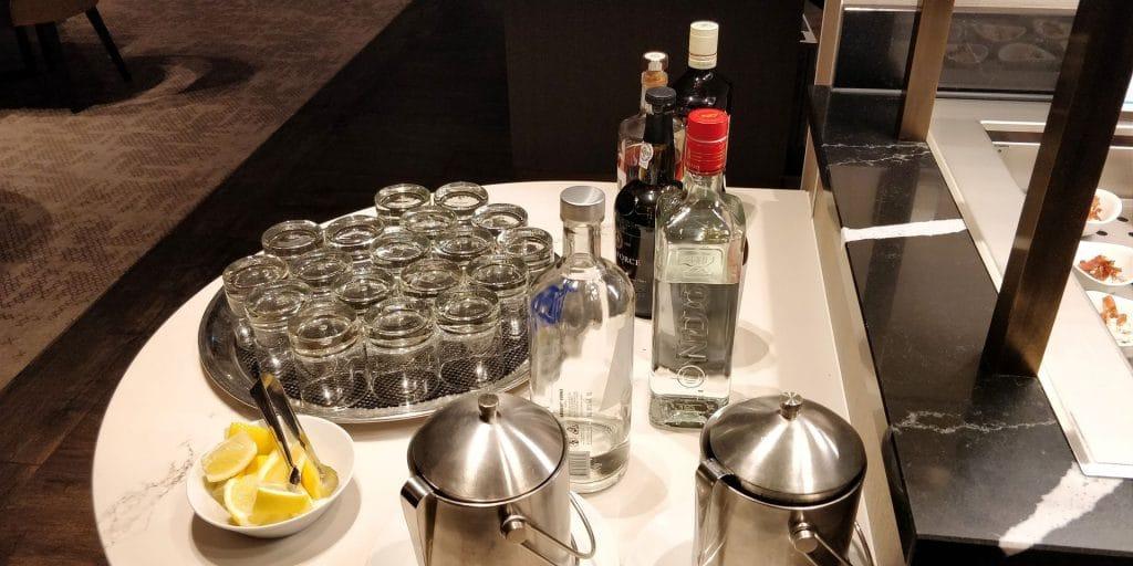Hilton München City Lounge Abendessen 5