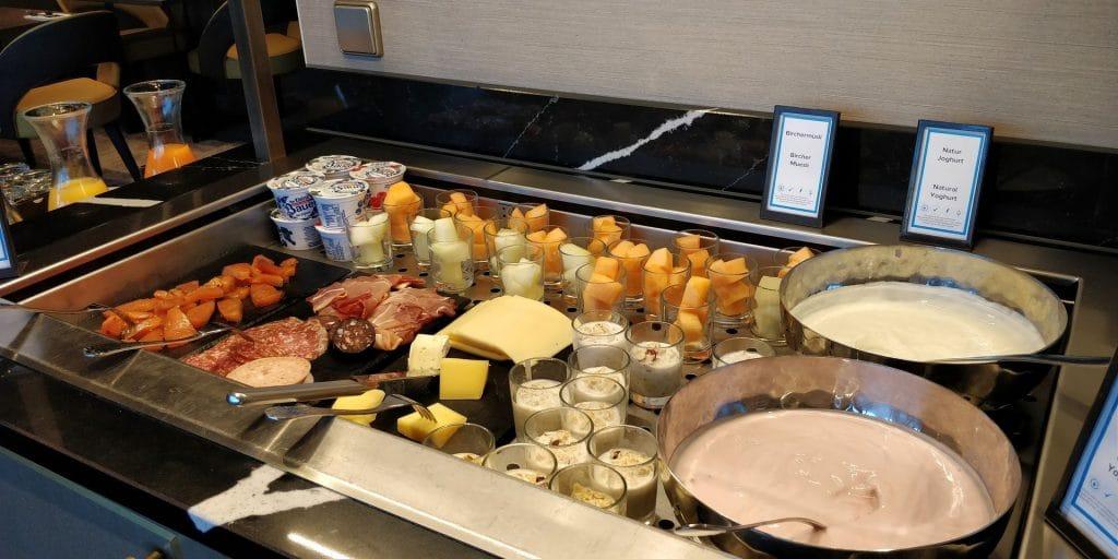 Hilton München City Lounge Frühstück