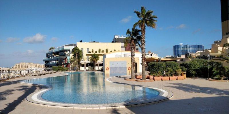 InterContinental Malta Außenpool 3