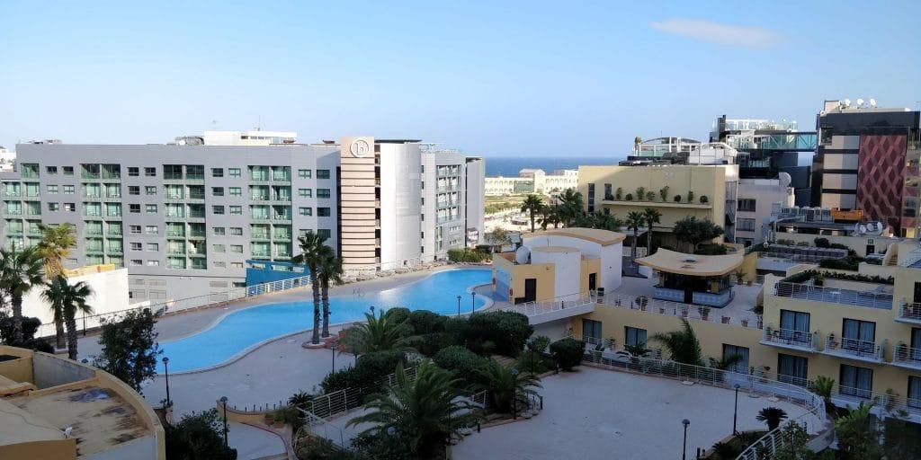 InterContinental Malta Ausblick