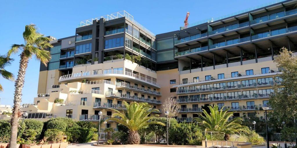 InterContinental Malta Gebäude
