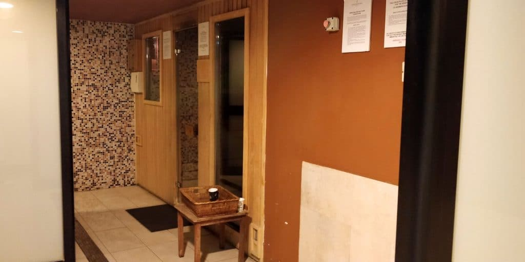 InterContinental Malta Sauna