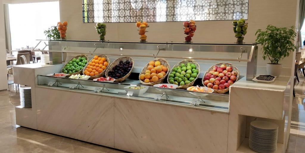 Jumeirah At Etihad Towers Abu Dhabi Frühstück 5