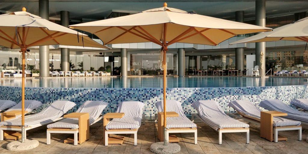 Jumeirah At Etihad Towers Abu Dhabi Pool 3