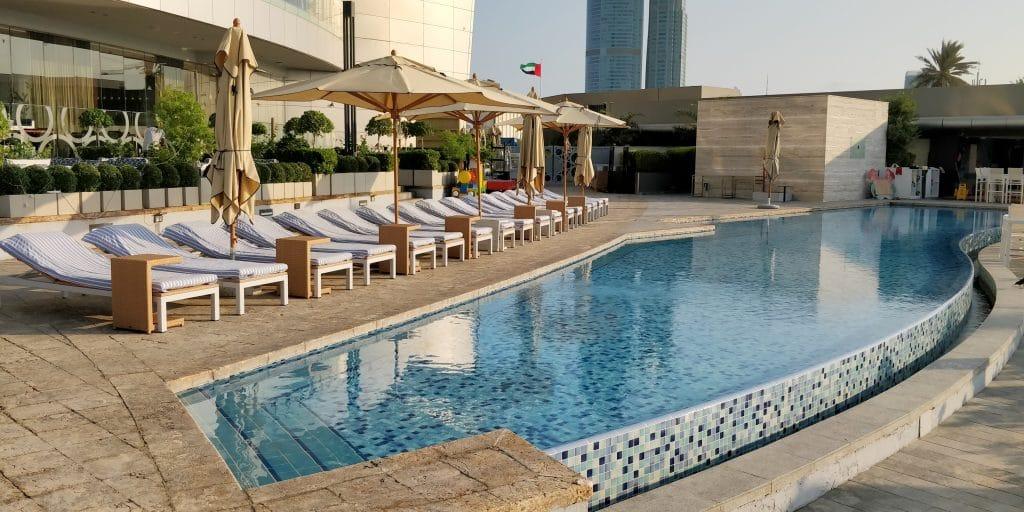 Jumeirah At Etihad Towers Abu Dhabi Pool 4