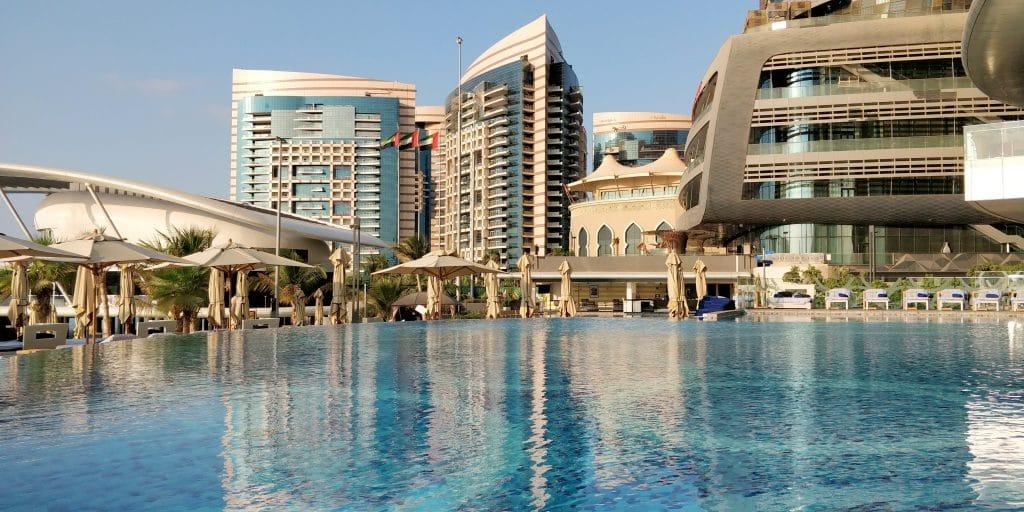 Jumeirah At Etihad Towers Abu Dhabi Pool 7