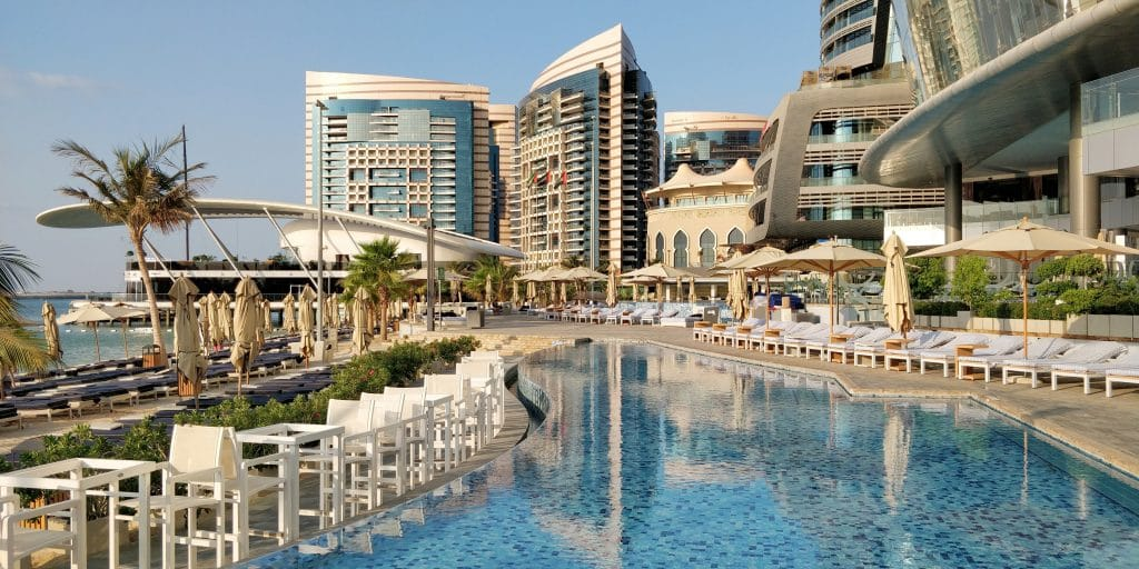 Jumeirah At Etihad Towers Abu Dhabi Pool 8
