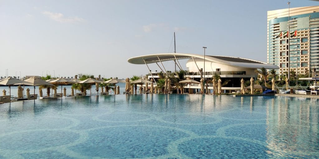 Jumeirah At Etihad Towers Abu Dhabi Pool 9