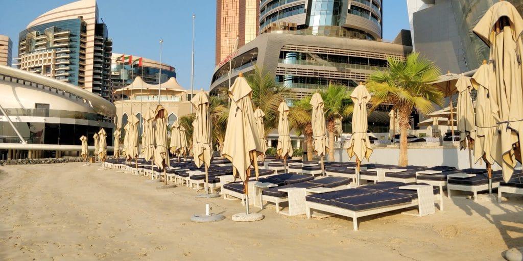 Jumeirah At Etihad Towers Abu Dhabi Strand
