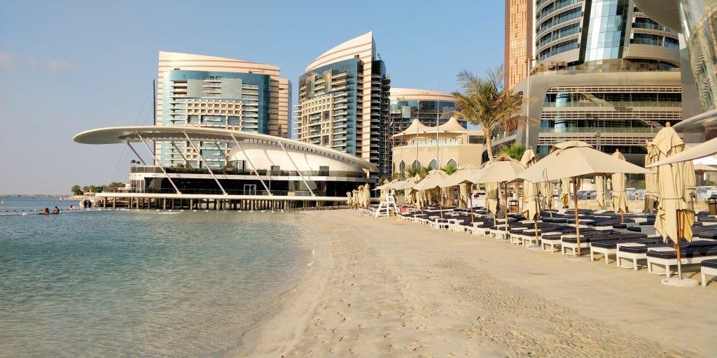 Jumeirah At Etihad Towers Abu Dhabi Strand 2