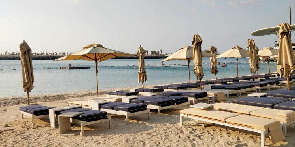 Jumeirah At Etihad Towers Abu Dhabi Strand 3