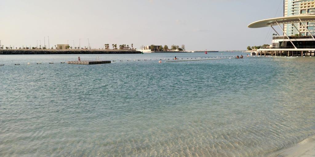 Jumeirah At Etihad Towers Abu Dhabi Strand 4
