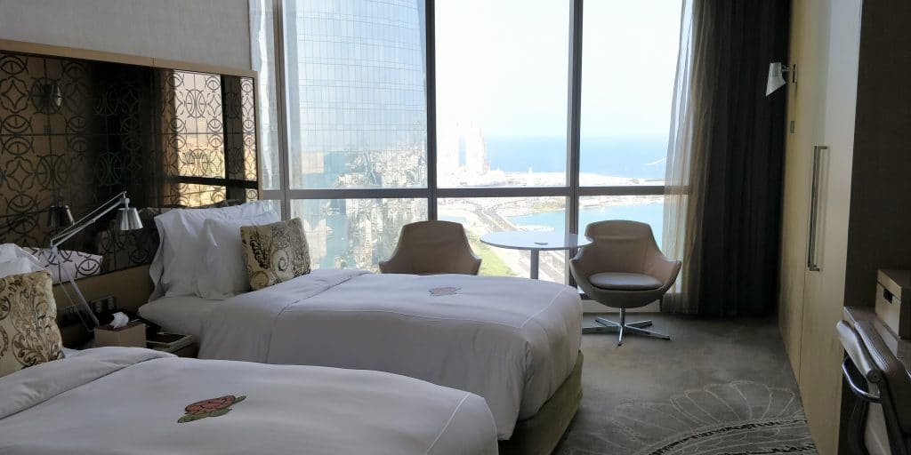 Jumeirah At Etihad Towers Abu Dhabi Zimmer