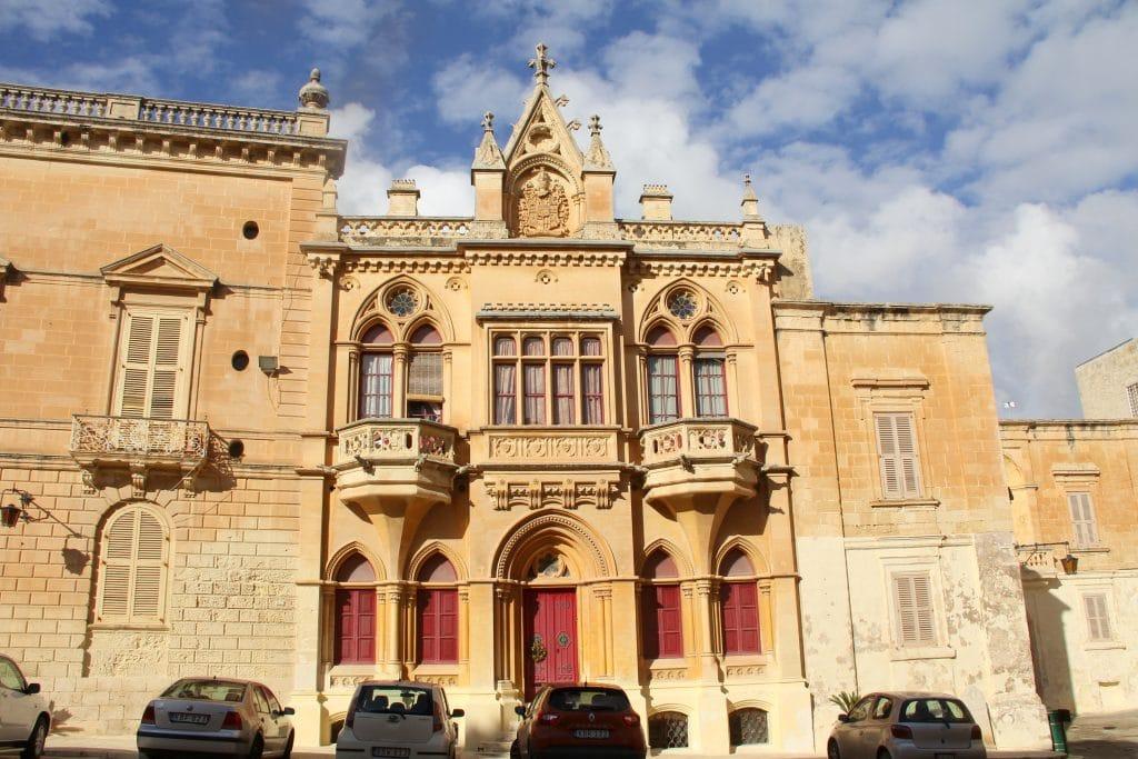 Mdina Gebäude Malta