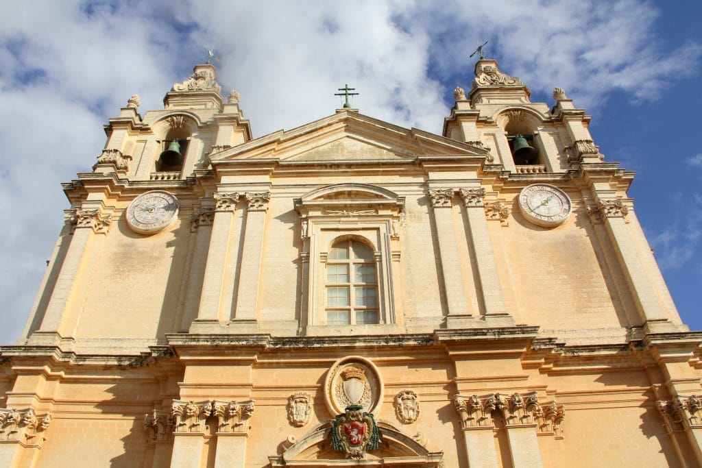 Mdina St. Paul's Cathedral Malta