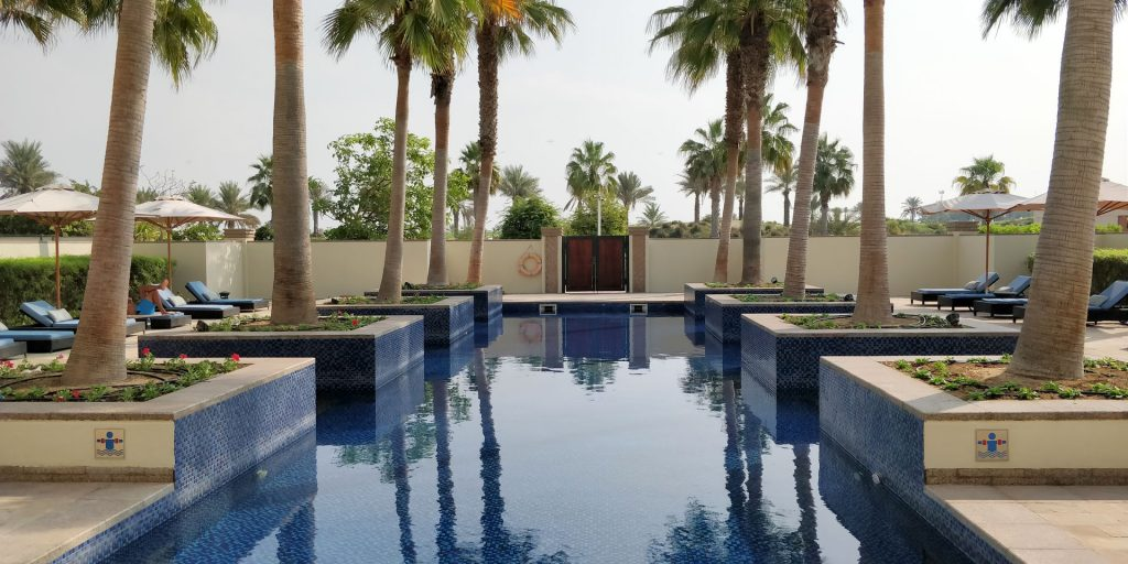 Park Hyatt Abu Dhabi Spa Pool