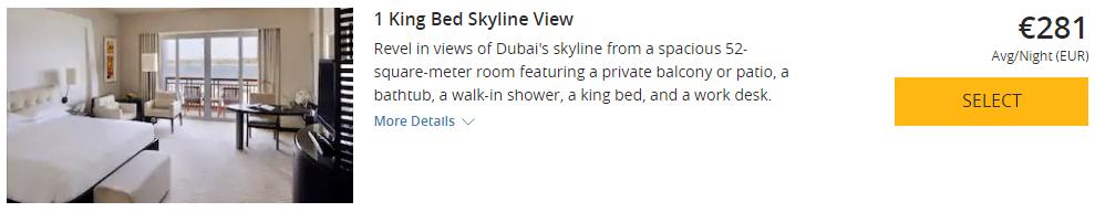 Park Hyatt Dubai Deluxe Zimmer(2)