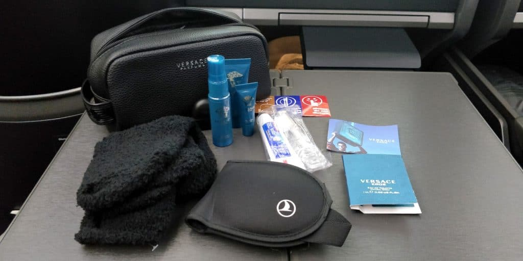 Turkish Airlines Business Class Boeing 787 Amenity Kit