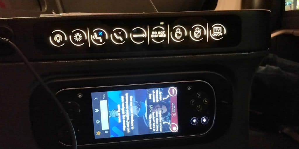Turkish Airlines Business Class Boeing 787 Details 2