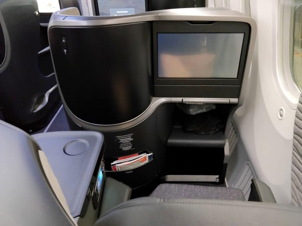 Turkish Airlines Business Class Boeing 787 Sitz 10