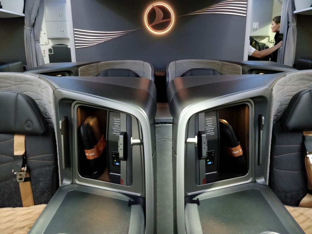 Turkish Airlines Business Class Boeing 787 Sitz 13