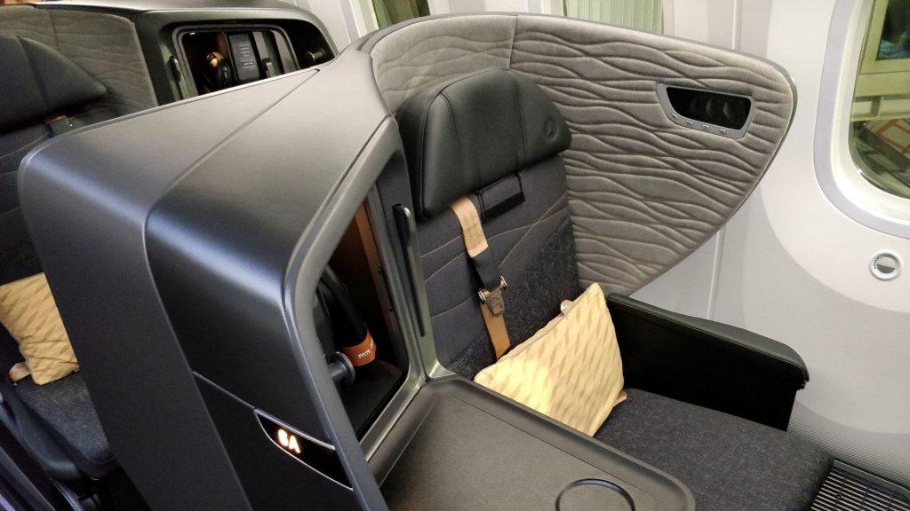 Turkish Airlines Business Class Boeing 787 Sitz 15