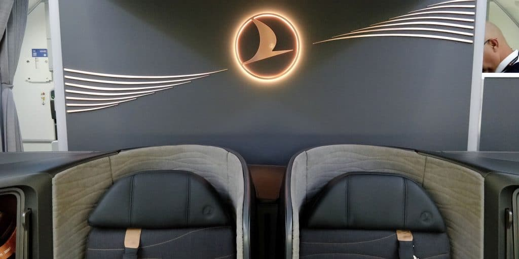 Turkish Airlines Business Class Boeing 787 Sitz 5
