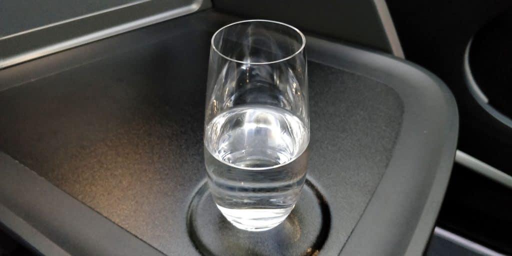 Turkish Airlines Business Class Boeing 787 Wasser