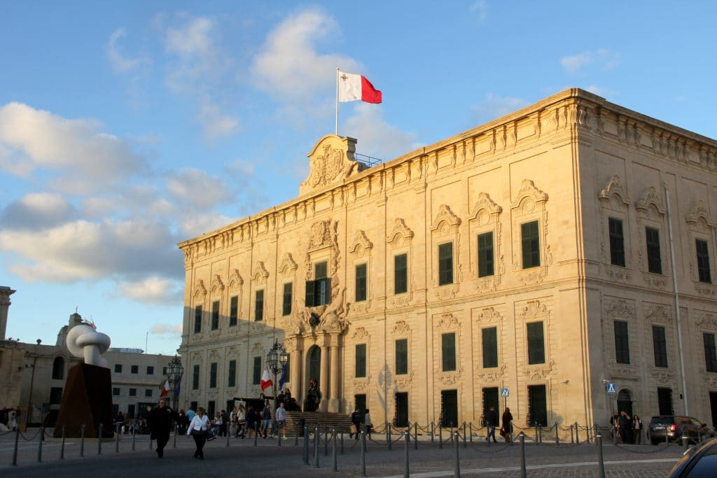 Valletta Auberge De Castille Malta