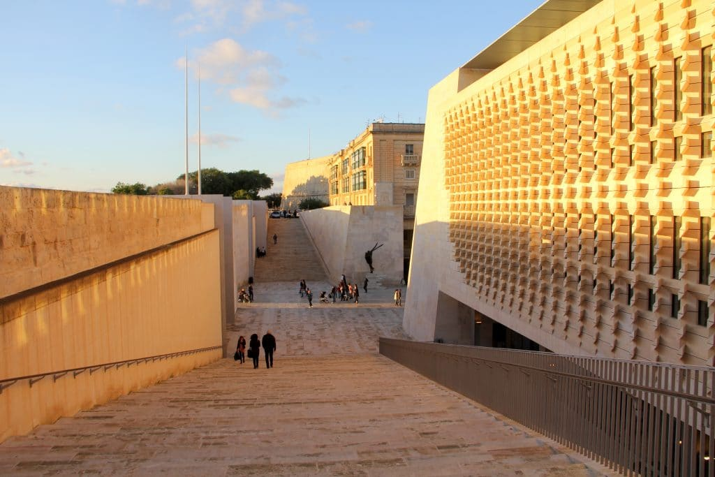 Valletta New Parliament Building Malta