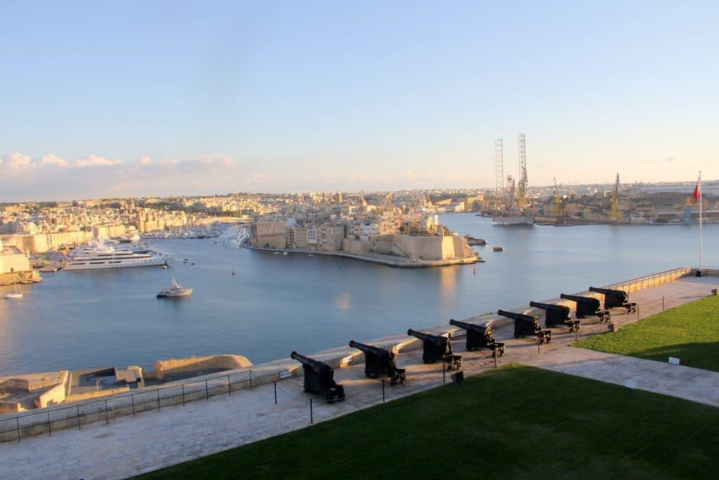 Valletta The Saluting Battery 2 Malta