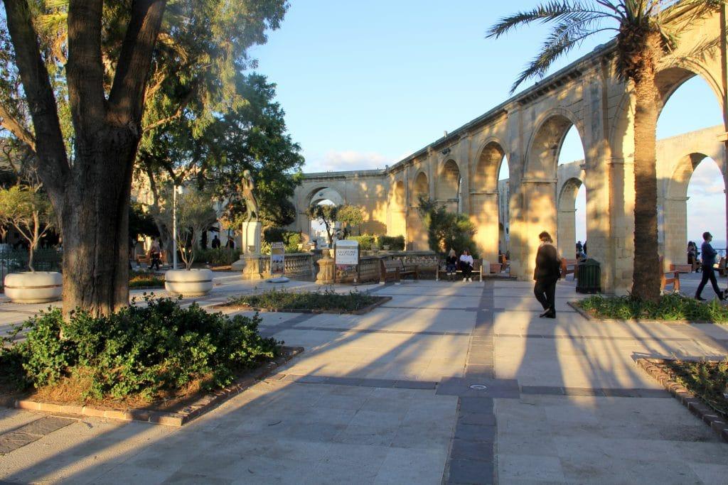 Valletta Upper Barrakka Gardens Malta