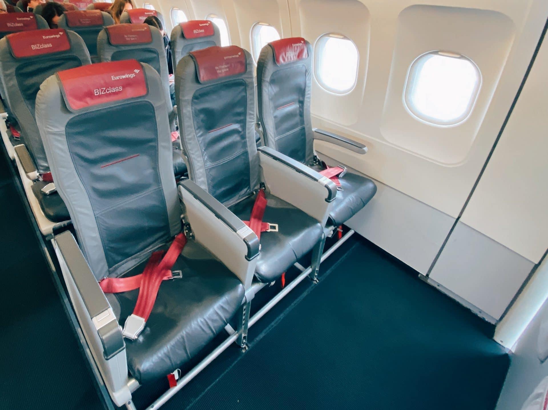 Eurowings BIZclass A319