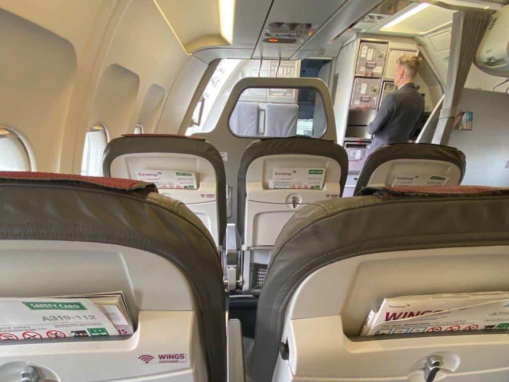 Eurowings BIZclass Sitze